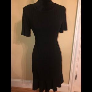 White House black market black stretch dress
